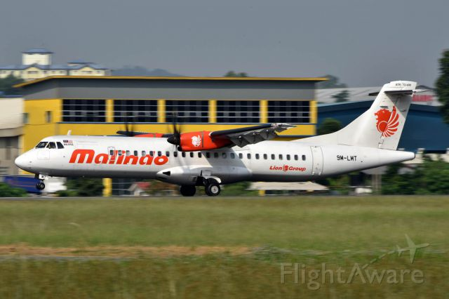 ATR ATR-72 (9M-LMT)