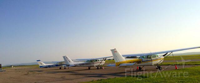 Cessna Skyhawk (C-GEBB) - CGEBB, CGKMH & CGWMB Cessna Skyhawk.