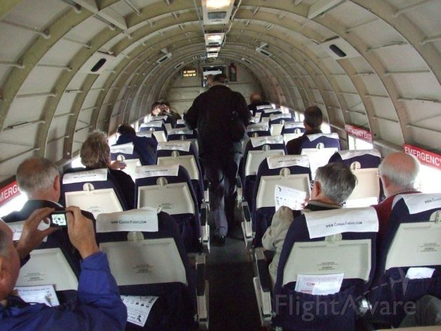 KK116 — - Lucky few on last paying flights of the C47 on visit to BHD
