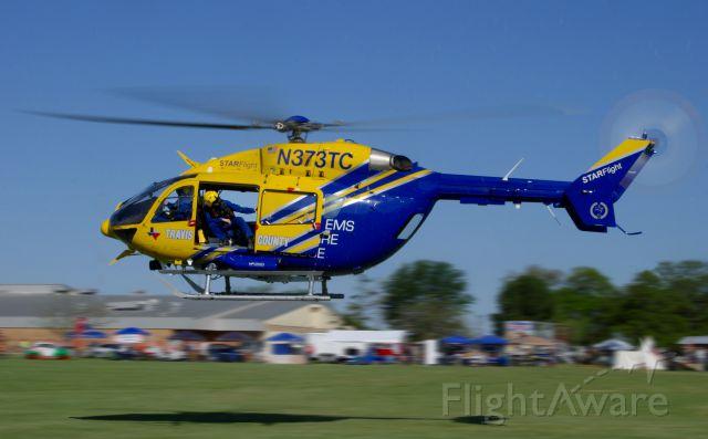 KAWASAKI EC-145 (N373TC) - Travis County Star Flight landing (Joe Fernandez Imaging)