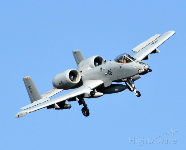 Fairchild-Republic Thunderbolt 2 (79-0107) - Trend 41 A-10C 303rd FS KC Whiteman AFB MO
