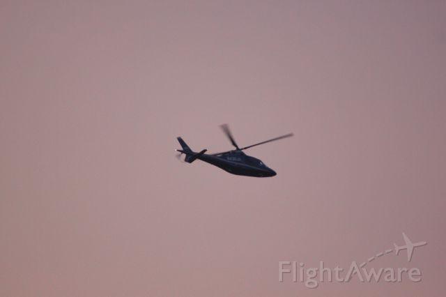 SABCA A-109 (N430JR) - At sunset in Monterrey