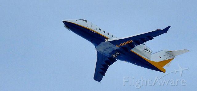 Canadair Challenger (C-GGWH)