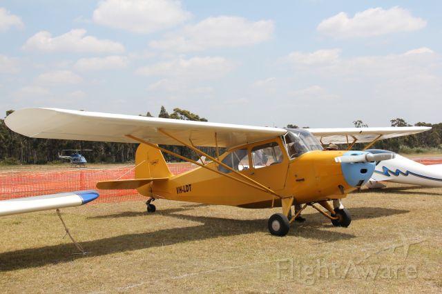 VH-LDT — - Aeronca 7AC Champion.br /Photo: 04.11.2012