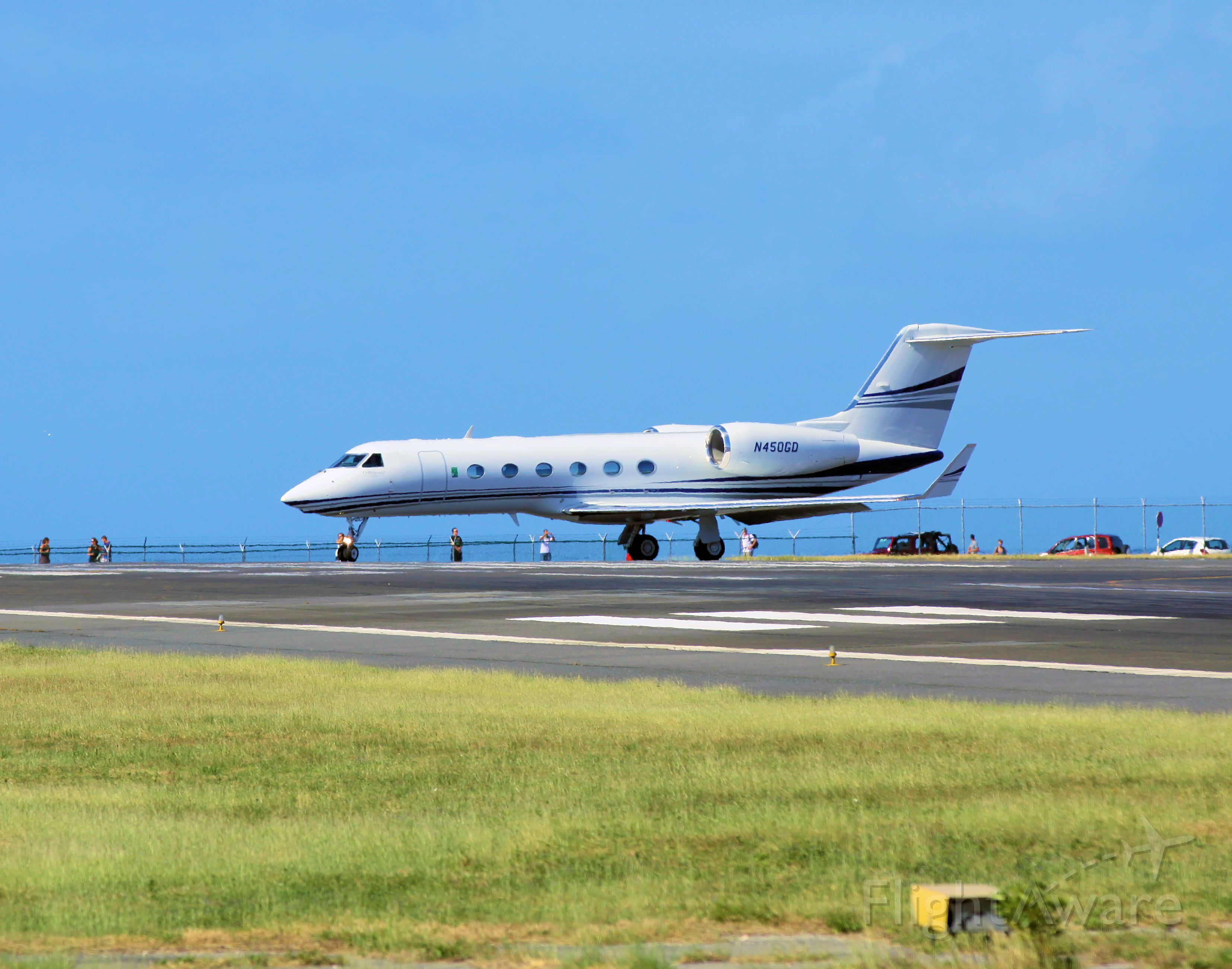 Gulfstream Aerospace Gulfstream IV (N450GD)