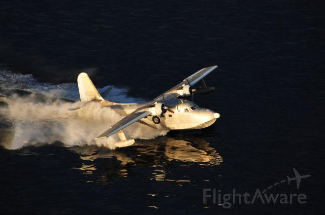 Grumman HU-16 Albatross (N1954Z) - Photoshoot over Lake Conroe