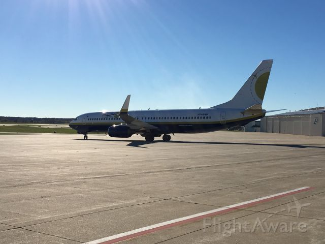 "Boeing 737-800 (N749MA) - Purdue Football departure to Minnesota 11/4/16.<br /><br /><a rel=""nofollow"" href=""http://flightaware.com/live/flight/N749MA"">http://flightaware.com/live/flight/N749MA</a>"