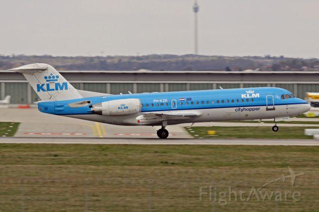 Fokker 70 (PH-KZK)