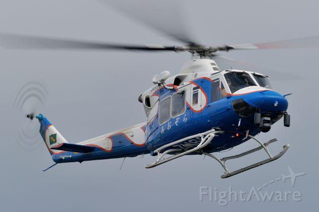 JA99MZ — - AIR RESCUE TEAM MIYAZAKI(Miyazaki Prefecture JPN)<br />NAME:(あおぞら=AOZORA)<br />Bell 412EP