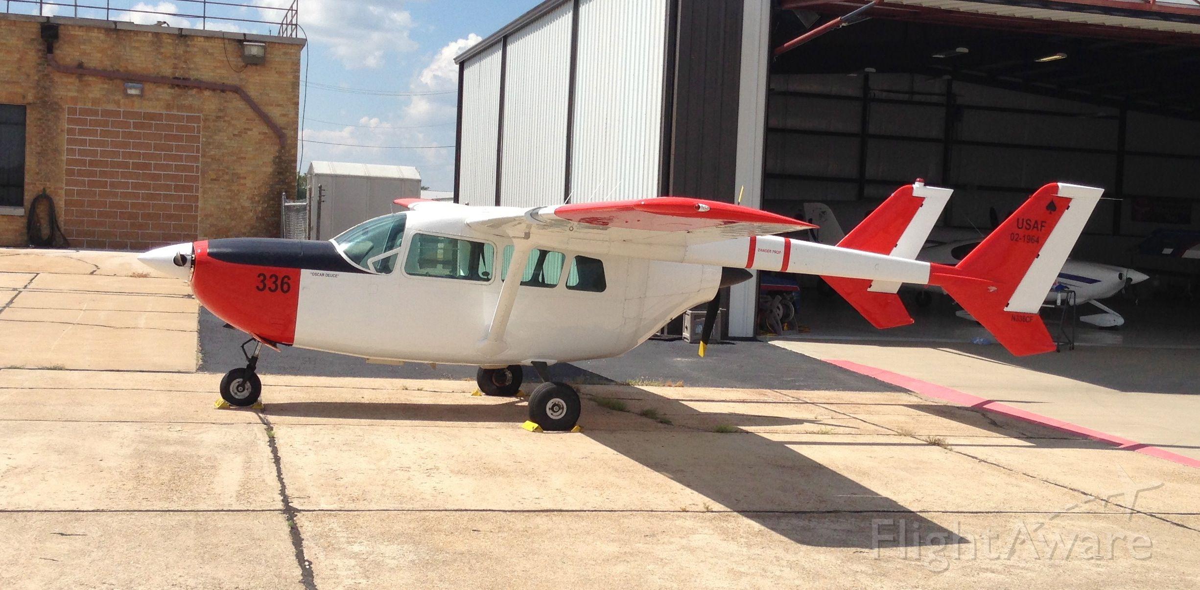 "Cessna 336 Skymaster (N336CF) - Spotted an ""Oscar Deuce"" at Joplin."