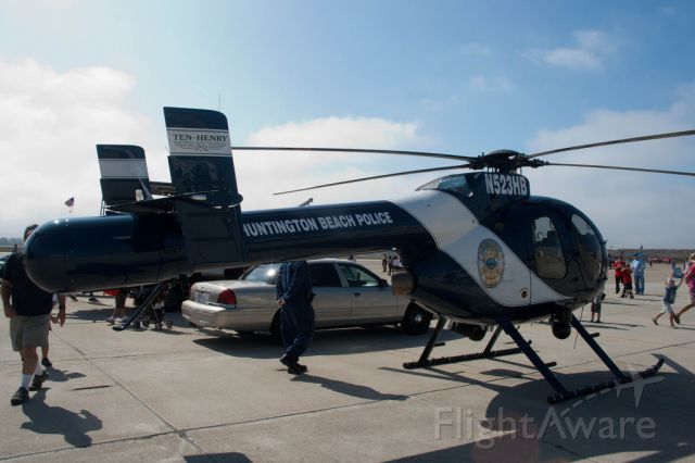 MD HELICOPTERS MD-520N (N523HB) - CITY OF HUNTINGTON BEACH