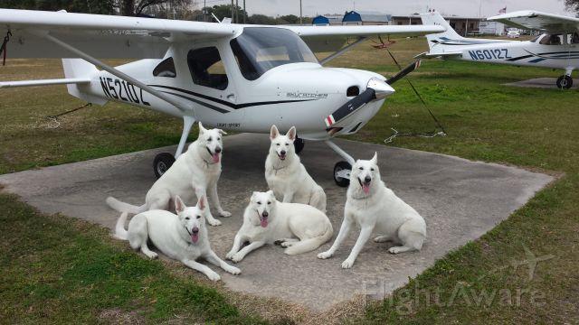 Cessna Skycatcher (N5210Z) - The kids