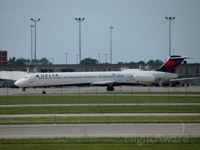 McDonnell Douglas MD-88 (N935DL) - Scientific name:Cincinnaticus multitudunis
