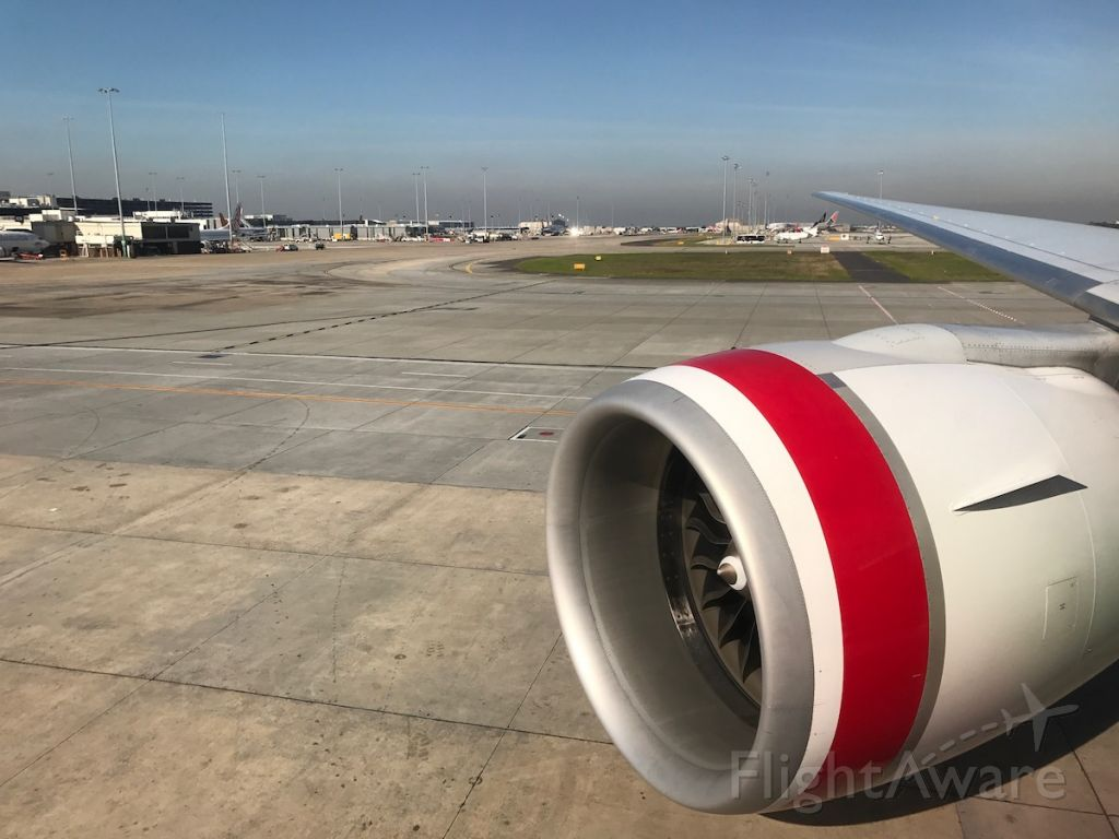 BOEING 777-300ER — - Taxiing out of Melbourne
