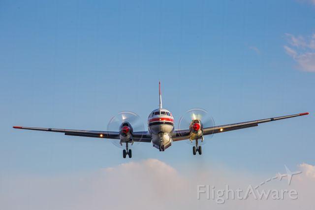 C-FFKF — - Convair CV580 on short final.