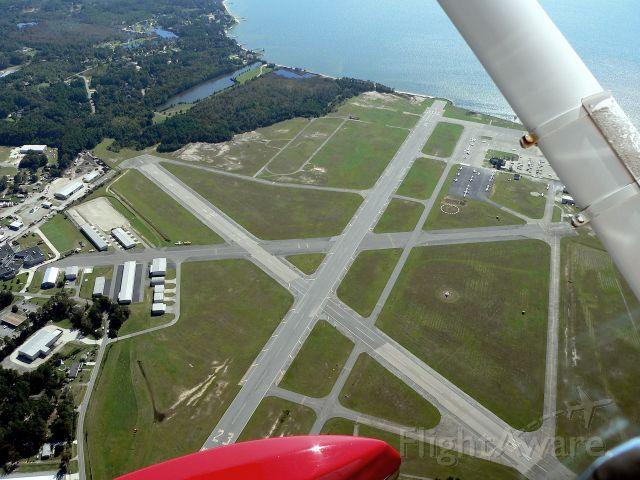 Cessna Commuter (N5258Q) - Aerial of Dare County Municipal Airport (KMQI)
