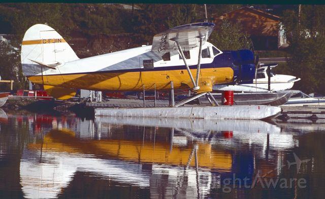 NOORDUYN UC-64 Norseman (C-FIJN) - Early A.M. at Red lake Ontario.