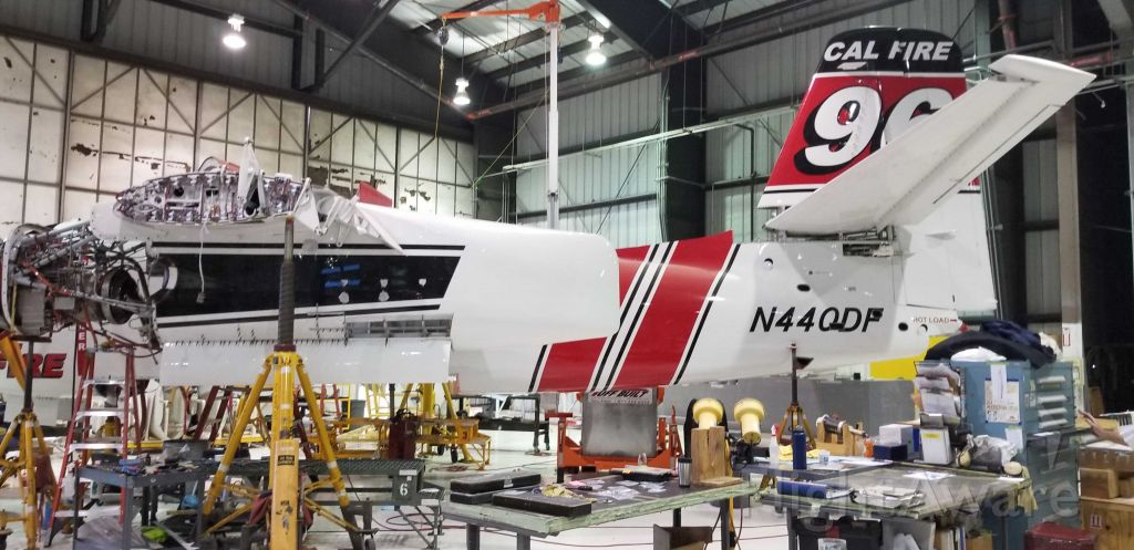 N440DF — - Tanker 96 at MCC while getting repaired after a crash landing in July of this year.