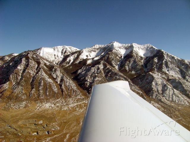 Diamond DV-20 Katana (N390JA) - Flying a long solo XC over Nephi (U14) area heading north to Provo (PVU)