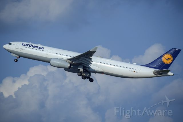 Airbus A330-300 (D-AIKG) - Departing off of 36R bound for Munich