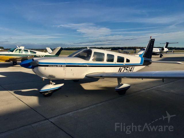 Piper Saratoga (N75141)