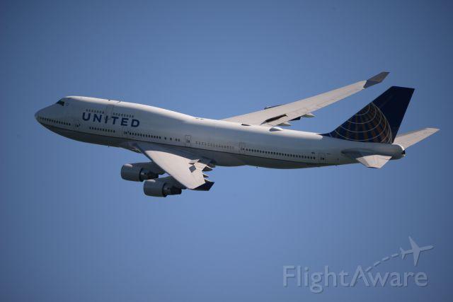 Boeing 747-200 (N120UA) - at San Francisco Fleet week