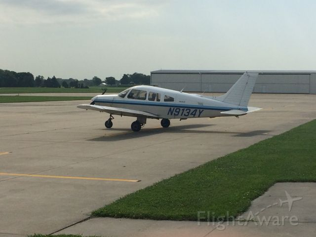 Piper Cherokee (N9134Y) - Did most of my training in this airplane.