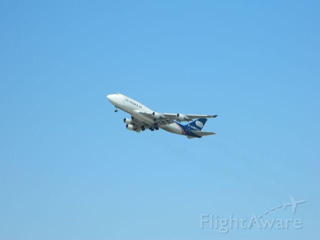 Boeing 747-200 (N742WA) - WOA9889 off of 16 (MCC) headed to SUU. A 7 minute flight!