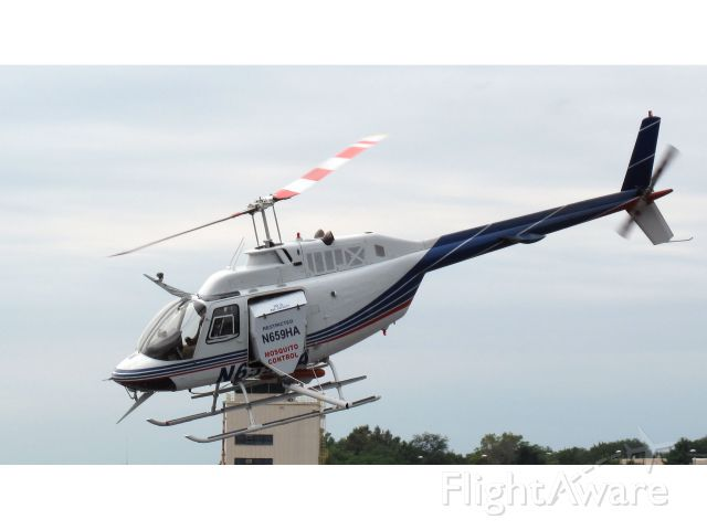 Bell 407 (N659HA) - Used for Mosiquit control.