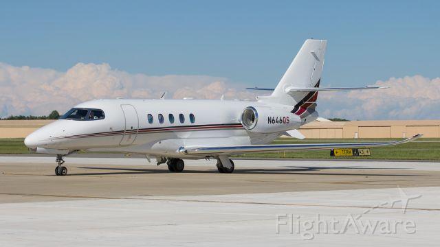 Cessna Citation Excel/XLS (N646QS) - A Netjets Cessna 560XL Citation Excel sits on the ramp at KPPO.