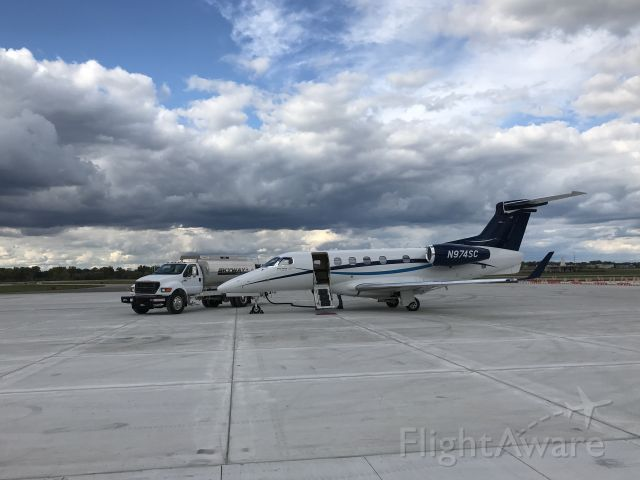 Embraer Phenom 300 (N974SC) - Embraer  Phenom 300 fueling up at JXN for a flight to DFW