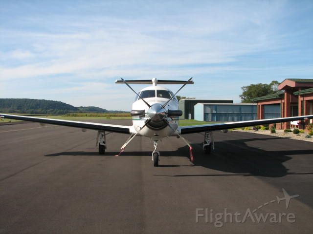 Pilatus PC-12 (N217EB) - It was such a beautiful day