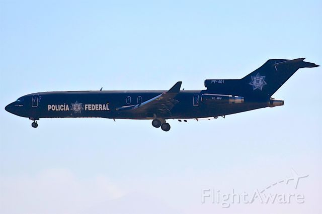 Boeing 727-100 (XC-MPF)