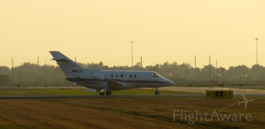 Raytheon Hawker 800 (N42JJ) - Five McD