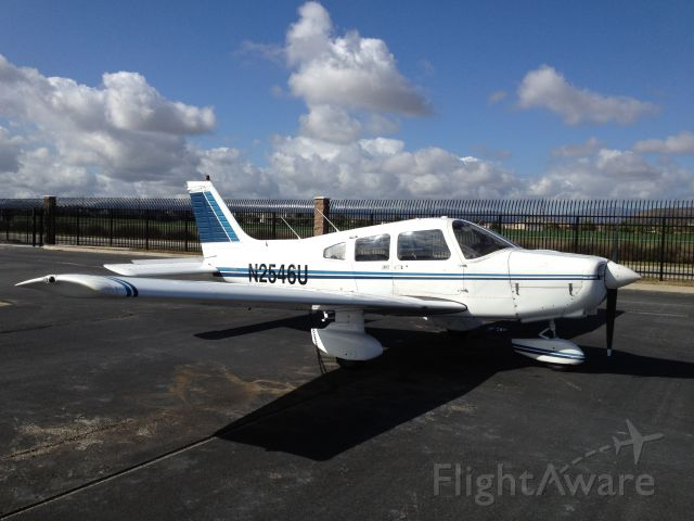 Piper Cherokee (N2546U) - EFI Flight School Cherokee Warrior.