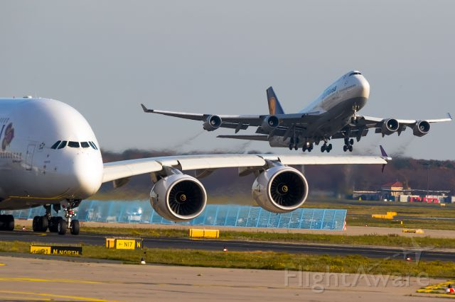 Boeing 747-400 (D-ABVZ) - the QUEEN, what else