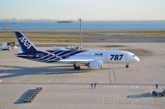 Boeing 787-8 (JA801A) - 2011/12/5