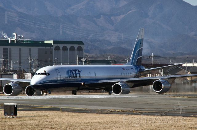 McDonnell Douglas DC-8-70 (N721CX) - December 27, 2012