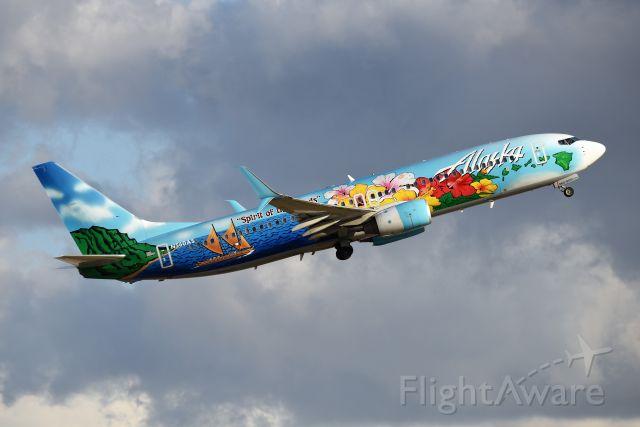 Boeing 737-800 (N560AS) - 23-L 09-28-20
