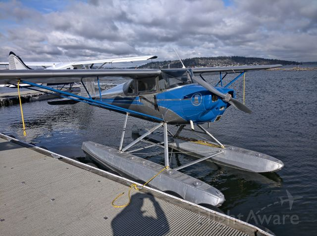 TEMCO Silvaire (N71311) - Just put her in the water.  Ready for a flight around Lake Washington