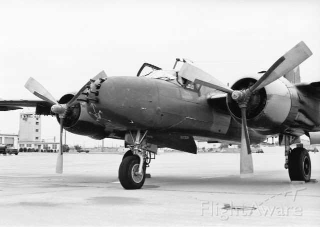 N4988N — - Special Kay during refuel stop at Dyess AFB Tx Oct 1969 enroute to DM AFB Az
