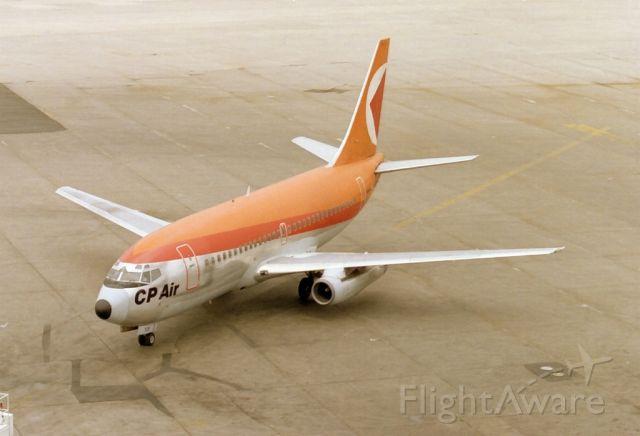 Boeing 737-200 (C-GQCP) - Date 24/05/87 c/n 22865
