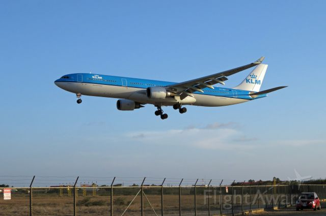 Airbus A330-300 (PH-AKE) - KLM765 welcome to Bonaire!!!