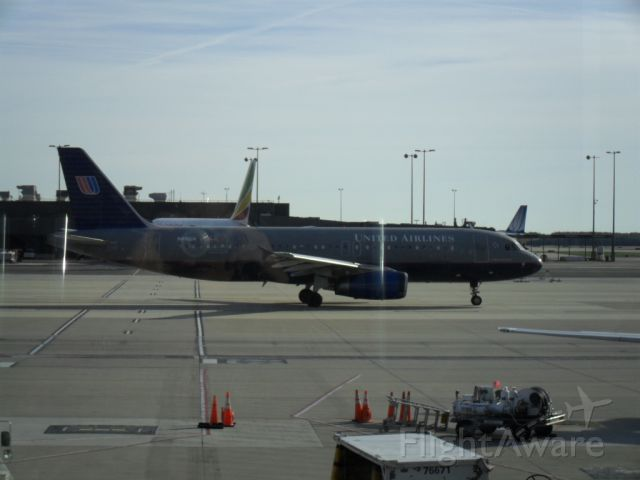 Airbus A320 (N416UA)