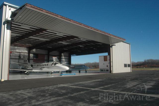 Cessna Citation V (N510JN) - Heated hangar space available