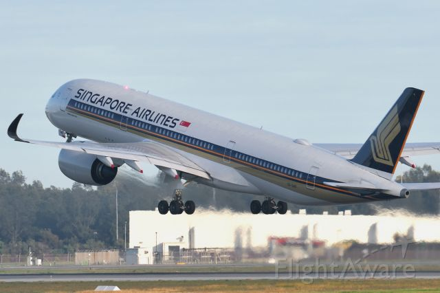 Airbus A350-900 (9V-SHO) - Adelaide, South Australia, June 27, 2020