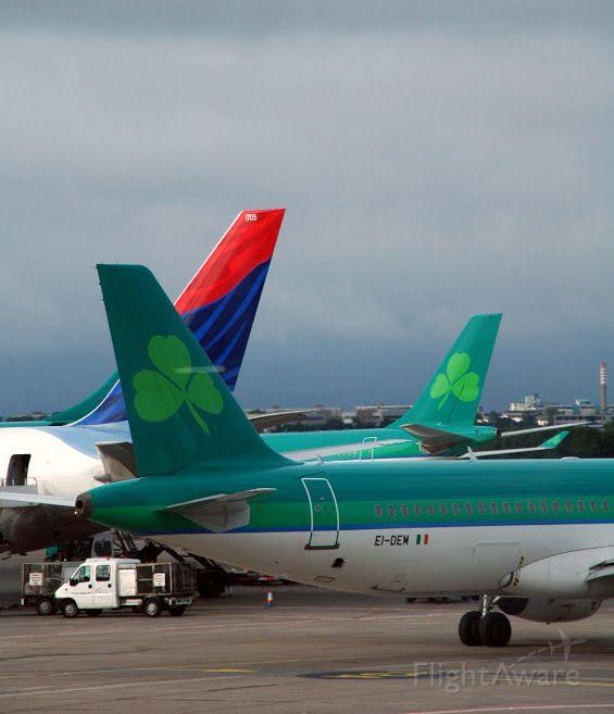 Airbus A320 (EI-DEM) - Le 18 juillet 2009 : de retour au Canada