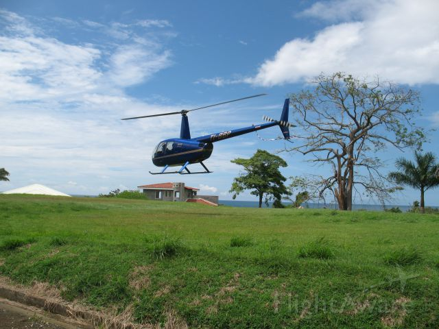 TI-BBP — - Robinson R44 Raven II  - Medi-Vac in Playa Azul, Guanacaste, Costa Rica