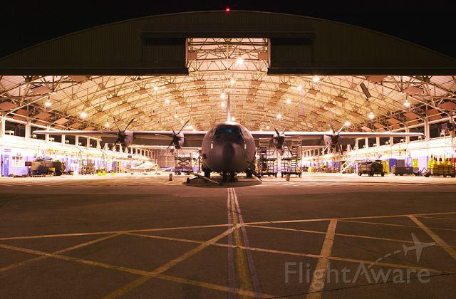 Lockheed C-130 Hercules — - Lockheed C-130J under overhaul