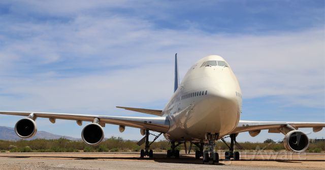 BOEING 747-100 (N747GE) - 22 Jun 2019<br />Pima Air and Space Museum, Tucson, AZ